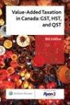 Value-Added Taxation in Canada: GST, HST, and QST, 5th Edition cover
