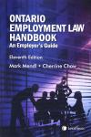 Ontario Employment Law Handbook – An Employer's Guide, 11th Edition cover