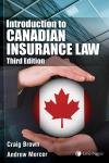 Introduction to Canadian Insurance Law, 3rd Edition cover