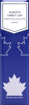 Alberta Family Law cover