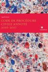 LegisPratique- Code de procédure civile annoté 2016-2017 (couverture artistique) cover