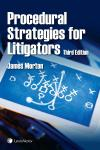 Procedural Strategies for Litigators, 3rd Edition cover