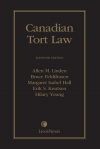Canadian Tort Law, 11th Edition cover