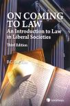 On Coming to Law - An Introduction to Law in Liberal Societies, 3rd Edition cover