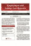 Employment and Labour Law Reporter- Newsletter + PDF cover