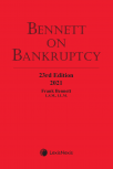 Bennett on Bankruptcy, 23rd Edition, 2021 + E-Book PDF cover