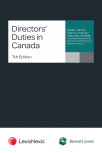 Directors' Duties in Canada, 7th Edition cover