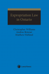 Expropriation law in Ontario cover