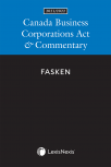 Canada Business Corporations Act & Commentary, 2021/2022 Edition cover