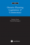 Ontario Planning Legislation & Commentary, 2021 Edition cover