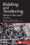 Bidding and Tendering – What is the Law? 6th Edition cover