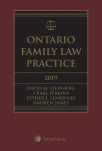 Ontario Family Law Practice, 2019 Edition + CD   cover