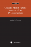 Ontario Motor Vehicle Insurance Law & Commentary, 2019 Edition cover