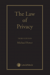The Law of Privacy, 3rd Edition cover