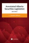 Annotated Alberta Securities Legislation, 2022 Edition cover