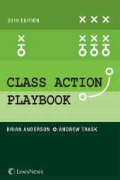 Class Action Playbook, 2019 Edition cover