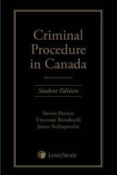 Criminal Procedure in Canada, 2nd Edition – Student Edition cover
