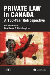 Private Law in Canada: A 150-Year Retrospective cover