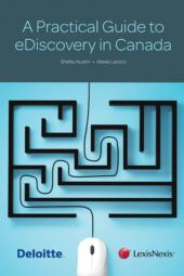A Practical Guide to eDiscovery in Canada cover