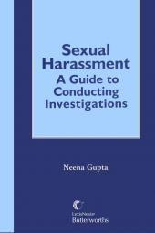 Sexual Harassment: A Guide to Conducting Investigations cover