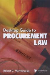Desktop Guide to Procurement Law cover
