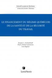 Thema – Le financement du régime québécois de la santé et de la sécurité du travail cover