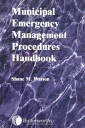 Municipal Emergency Management Procedures Handbook cover