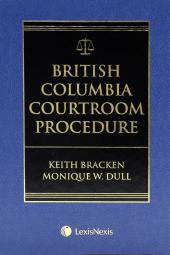 British Columbia Courtroom Procedure cover