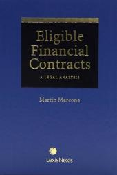 Eligible Financial Contracts - A Legal Analysis cover