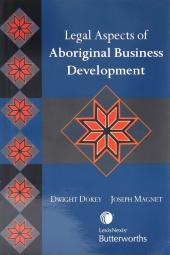 Legal Aspects of Aboriginal Business Development cover