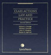 Class Actions Law and Practice, 2nd Edition cover