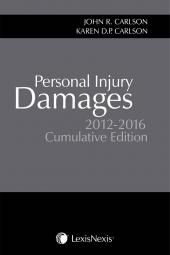 Personal Injury Damages, 2012-2016 Cumulative Edition cover
