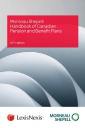 Morneau Shepell Handbook of Canadian Pension and Benefit Plans, 16th Edition cover