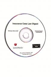 Insurance Case Law Digest on CD-ROM cover
