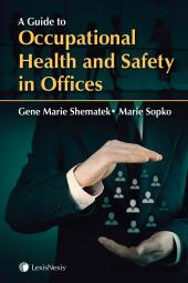 A Guide to Occupational Health and Safety in Offices + CD cover