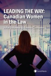 Leading the Way: Canadian Women in the Law cover