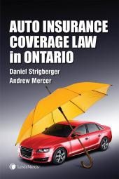 Auto Insurance Coverage Law in Ontario cover