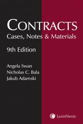 Contracts: Cases, Notes and Materials, 9th Edition cover