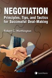 Negotiation: Principles, Tips, and Tactics for Successful Deal-Making cover