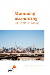 Manual of Accounting – UK GAAP 4th edition eBook cover
