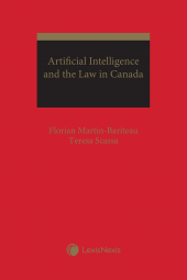 Artificial Intelligence and the Law in Canada cover