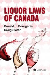 Liquor Laws of Canada cover