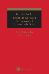 Broader Public Sector Procurement: A Procurement Professional's Guide cover