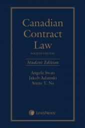 Canadian Contract Law, 4th Edition, Student Edition cover