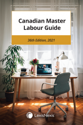 Canadian Master Labour Guide, 36th Edition, 2021 cover