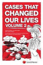 Cases that Changed Our Lives, Second Edition cover