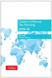 Clarke's Offshore Tax Planning 2018-19 (25th edition) cover