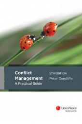Conflict Management A Practical Guide, 5th edition cover