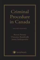 Criminal Procedure in Canada, 2nd Edition cover