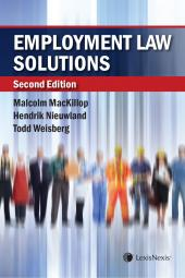 Employment Law Solutions, 2nd Edition cover